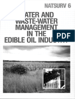 Water and Wastewater Management in the edible oil industry