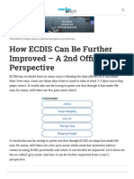 How ECDIS Can Be Further Improved - A 2nd Officer's Perspective