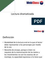 CLASE 4 Lecturadramatizada
