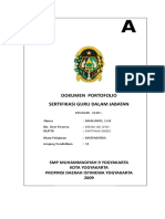 Dokumen Portofolio Margiyati Spd