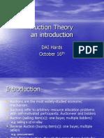 Auction Theory Stephane