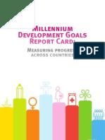Millennium Development Goals Mdg Report Card 2010