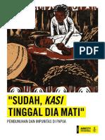 """""""SUDAH, KASI TINGGAL DIA MATI"""""""