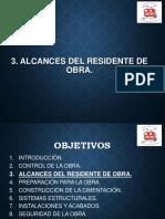 3. Alcances Del Residente de Obra