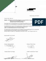 Brief Open VLD op kosten van belastingbetaler
