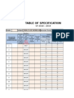 Table of Specification.xlsx