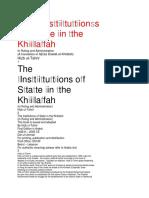 The IInssttiittuttiionss