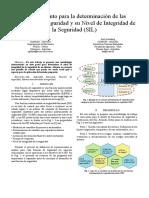 Procedimiento Para La Determinación de Las Funciones de Seguridad y Su Nivel de Integridad de La Seguridad (SIL)