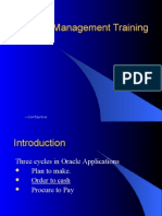 Oracle Apps Order Management Training