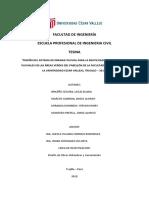 Tesina-sistema de Drenaje Pluvial en El Pabellon de Ingenieria de La Ucv Trujil