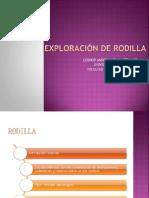 Exploracion de La Rodilla