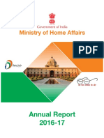 Ministry of Home Affair 2016