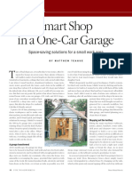 Smart Shop in a One Car Garage