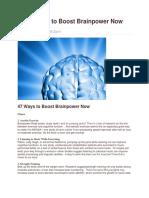 5K 47 Ways to Boost Brainpower Now (1)