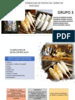 Pastas de Pescado Grupo3