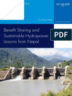 Benefit Sharing and Suistainable Hydropower Lessons From Nepal