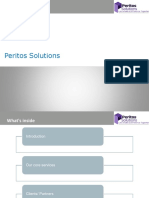 Peritos IT Solutions Capability Deck_Marketing