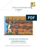 Catalogo de Rocas Sedimentarias1