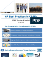 Best HR Practices in CPSEs