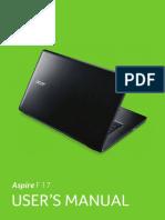 Acer Notebook User Manual