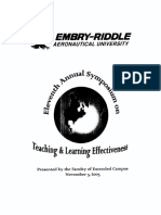 Teaching & Learning Effectiveness