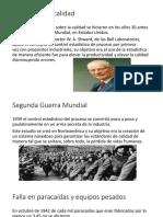Historia de La Calidad Automotriz