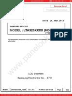 LTY320AN03 Samsung