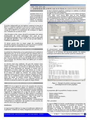 ETABS TÉLÉCHARGER GRATUIT FORMATION PDF