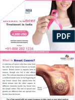 Breast Cancer Treatment in India - Surgery Tours India