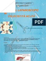 Abordul Laparoscopic in Colecistita Acuta