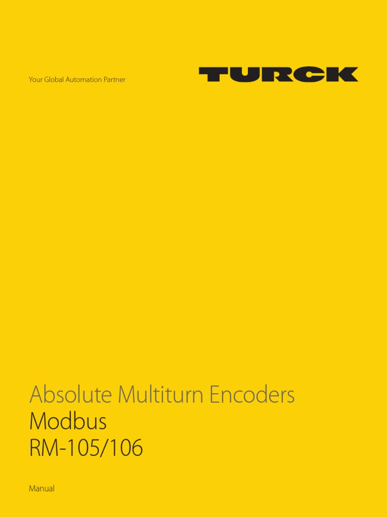 Absolute Multiturn Encoders - Modbus - MA1032 | Data