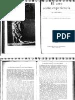 El Arte Como Experiencia- John Dewey