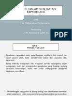 PPT Bioetika dalam Kesehatan Reproduksi