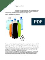 Arti Lambang Recycle Segitiga Pada Botol Botol