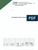 Equipment Noise Control