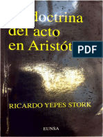 La Doctrina Del Acto - R. Yepes