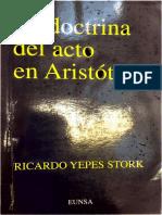 La Doctrina Del Acto - R. Yepes