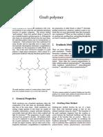 introduction of graft polymerization