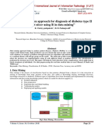 A implementation approach for diagnosis of diabetes type II foot ulcer using R in data mining