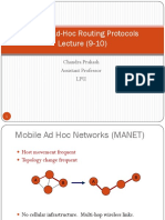 Mobile Ad Hoc Routing Protocol