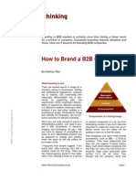 How to Brand a B2B Company