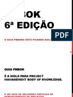 PMBOK 6ª EDIÇÃO