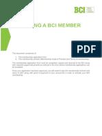 BCI Membership Form