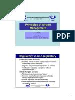 PRINCIPLES OF AIRPORT MANAGEMENT