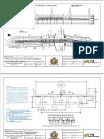 Plano de diseño de puentes
