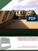 Manajemen & Triase Korban Bencana Massal-jay