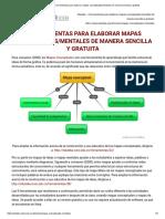 Eduteka - 4 Herramientas Para Elaborar Mapas Conceptuales_mentales de Manera Sencilla y Gratuita