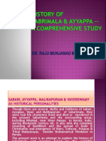 History of Ayyappa and Sabarimala- A Comprehensive Study