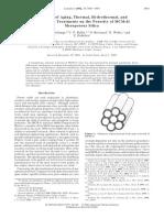 Efek Aging Thermal Hidrothermal Thdp Pori MCM-41