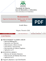Aula 1 Econometria 2016